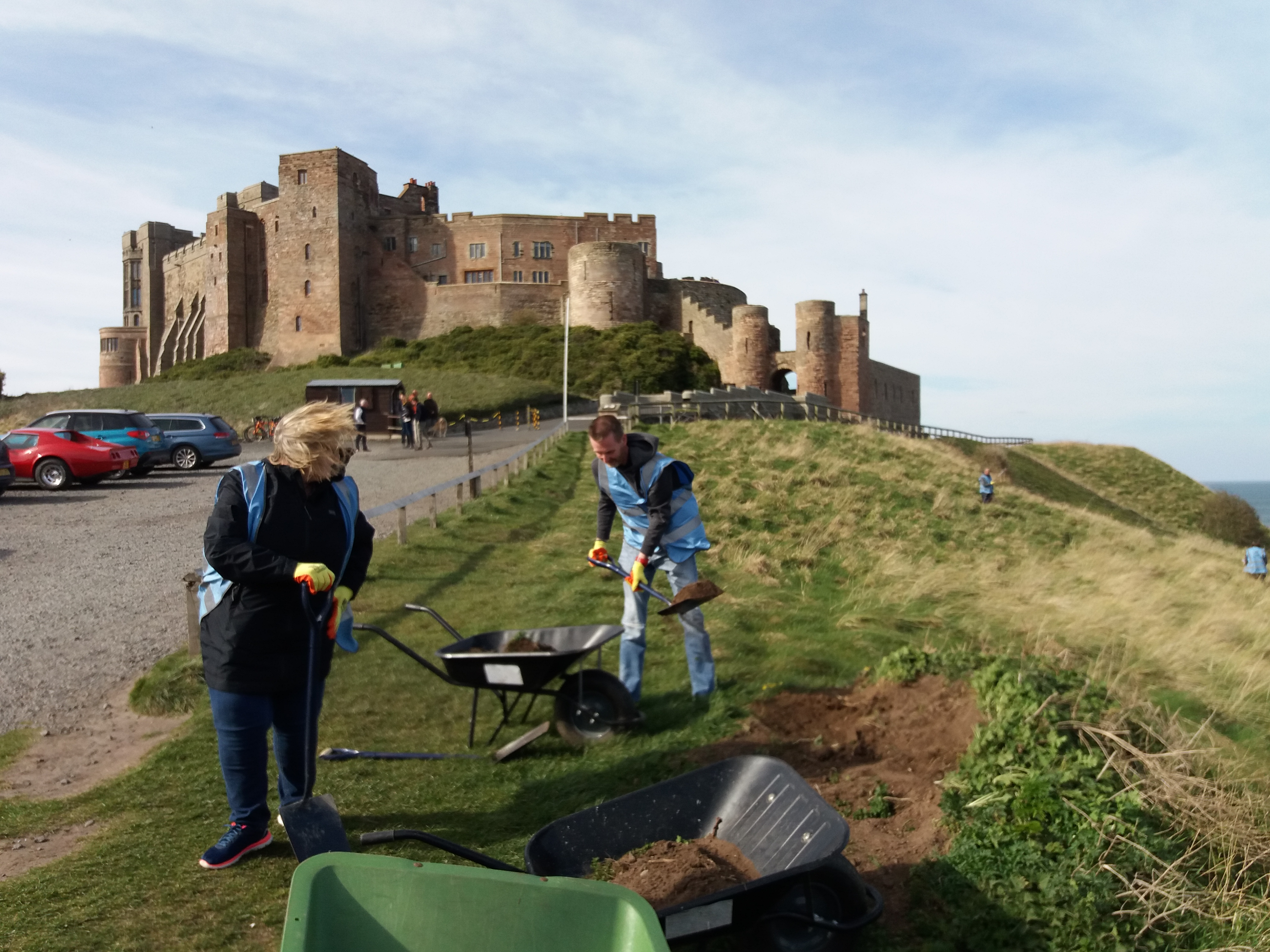 Bringing Biodiversity Back to Bamburgh Castle